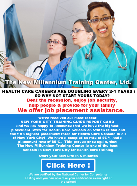 The New Millennium Training Center - Medical Assistant Training