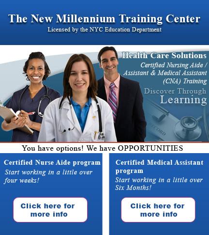 The New Millennium Training Center - Medical Assistant Training